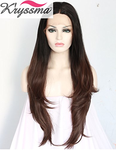 kryssma-natural-looking-black-roots-brown-wigs-uk-soft-hair-synthetic-lace-front-wig-for-women-ombre