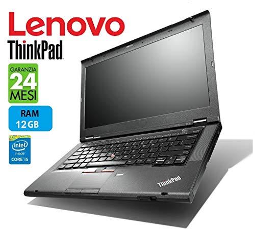 Lenovo ThinkPad TSeries PRO 14in Intel i5 2.6GHz / 3.50Ghz RAM 12 GB - Garanzia 24 Mesi (Ricondizionato)