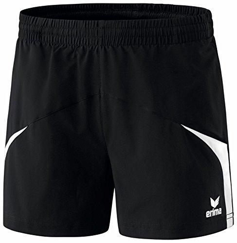 Erima Damen Oberbekleidung Razor 2.0 Shorts Schwarz/Weiß, 36