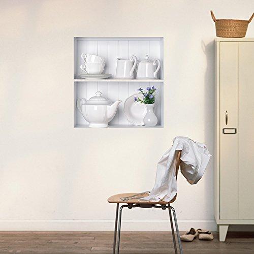bluelover-wall-art-tea-set-3d-equitazione-lattice-parete-stickers-pag-rimovibile-griglia-adesivi-reg