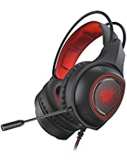Redgear Thunder-B 7.1 USB RGB Gaming Headphones with RGB LED Effect, Mic and in-line Controller for PC