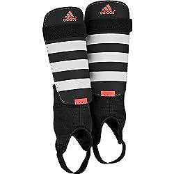 adidas Everclub Schienbeinschoner, Black/White/Solar Red, M