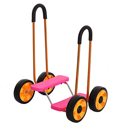 WYX Balance Fahrrad Kinder Reiten Fahrrad Kindergarten Spielzeug Roller Sensing Training Sportgeräte Safe Baby Fahrrad,C