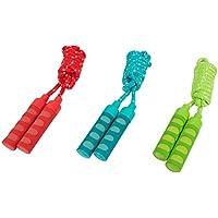 HUDORA Springseil mit Softgriffen mit 200 oder 240 cm Länge (1 Stück, zufällige Farbwahl)