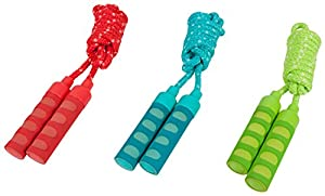 Hudora 71010 Cuerda de saltar con, 200 cm, surtido: colores aleatorios