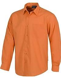 Camisa B8000, color naranja, manga larga, T-42