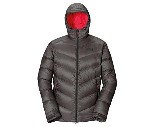 Jack Wolfskin Herren Daunenjacke Svalbard Jacket Men indian red