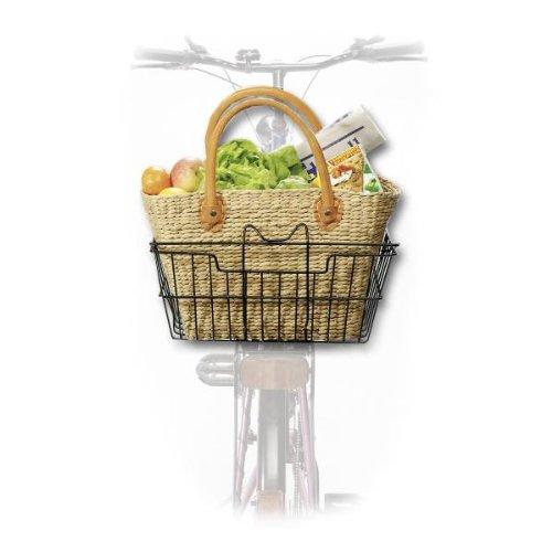 Fahrradkorb Hundekorb Wasserhyazinthe Mod. 4918 - Einkaufskorb Korbtasche
