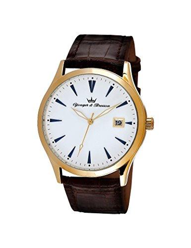 Reloj Yonger & Bresson hombre blanco–HCP 046/BU–Idea regalo Noel