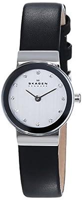 Skagen 358XSSLBC - Reloj de mujer de cuarzo (japonés), correa de acero inoxidable de Skagen