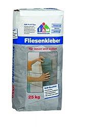 i&M Fliesenkleber 25 kg - Fliesenkleber innen & außen für Wand- & Bodenfliesen