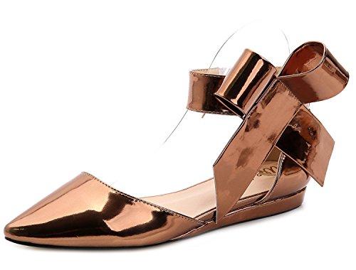 SEXYHER Femmes Mode talon plat Sandales - SHOMQ1128 gold
