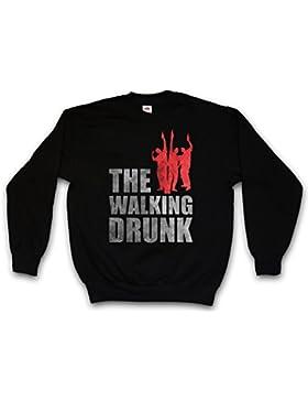 The Walking Drunk Sweatshirt – Dead Fun Boose Hangover Barfly Party University Beer Whiskey Scotch Single Malt...