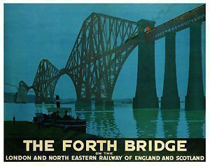 paramount-prints-poster-forth-bridge-ferrovie-edinburgo-scozia-vintage-lner-super-a1