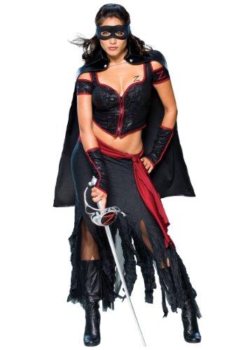 exy (Erwachsene Lady Zorro Kostüme)