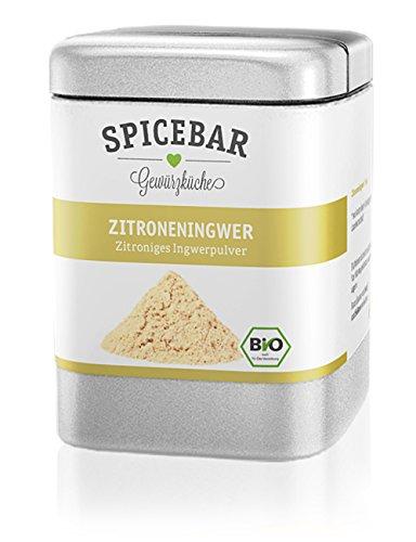 Spicebar Zitroneningwer - Zitroniges Ingwerpulver, Bio (1 x 60g)