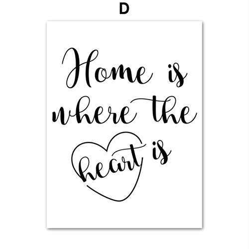 XWArtpic Kreative Einfache Paris Rose Geometrische Parfüm Herz Zitate Wandkunst Leinwand Malerei Nordic Poster Und Drucke Wandbilder Für Wohnzimmer Decor 30 * 40 cm