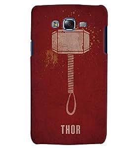 Citydreamz Thor Hard Polycarbonate Designer Back Case Cover For Samsung Galaxy J3