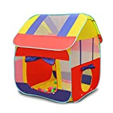 #5: Toyshine Foldable Kids Children's Indoor Outdoor Pop up Play Tent House Toy (Multicolour)