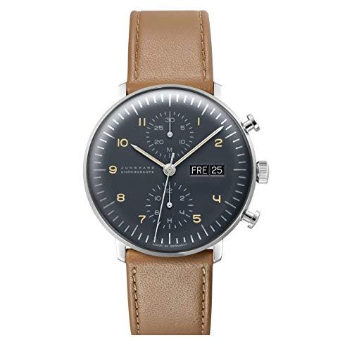 Mens Junghans Max Bill Chronoscope Automatic Chronograph Watch 027/4501.00