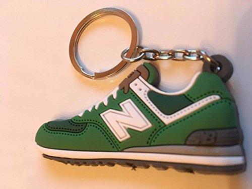 Preisvergleich Produktbild New Balance 574 Schlüsselanhänger Grün Sneaker Keychain Green