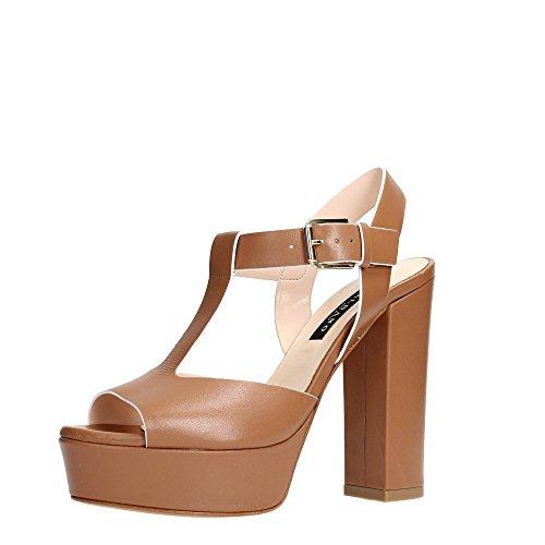 Albano 7836 Sandalo Donna Pelle Cuoio Cuoio