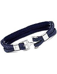 LOTUS Style Armband blau LS1974-2//3 Riemen Herren Schmuck Leder JLS1974-2-3