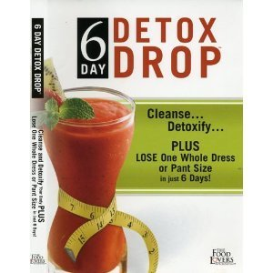 Preisvergleich Produktbild 6 Day Detox Drop,  Cleanse Detoxify Plus Lose One Whole Dress or Pant Size in just 6 Days,  The Food Lovers Fat Loss System,  DVD,  Robert Ferguson