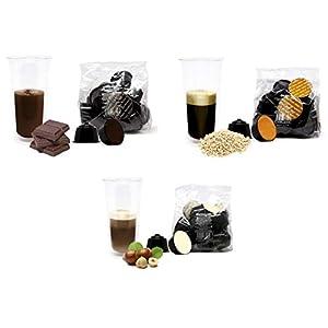 KIT COLAZIONE PIU' Lovespresso - 48 Capsule di caffè solubile in capsule compatibili NESCAFE' DOLCE GUSTO®