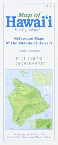 Map of Hawai'i: The Big Island (Reference Maps of the Islands of Hawai'i) (Big Island Von Hawaii)