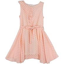 2ad286d32 Amazon.es  vestidos de niña rosa palo - Rosa
