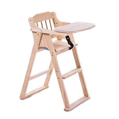LJHA Tabouret pliable Chaises de salle à manger en bois solides créatrices/table de salle à manger de bébé/siège multifonctionnel pliable chaise patchwork (Couleur : A)