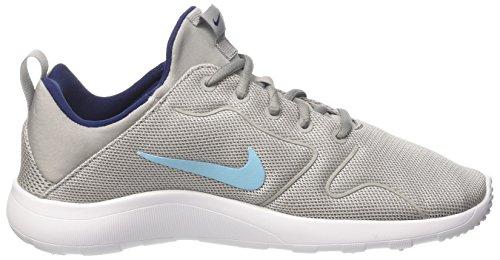 Nike Kaishi 2.0 Gs, chaussures de course garçon Noir (Mtt Slvr/vvd Sky-bnry Bl-white)