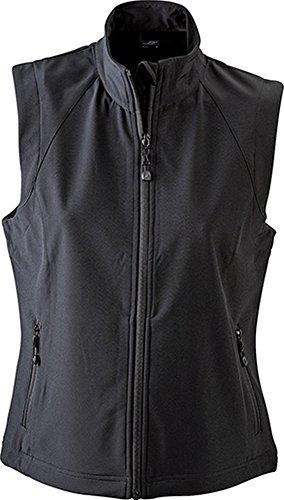 James & Nicholson Ladies' Softshell Vest Black