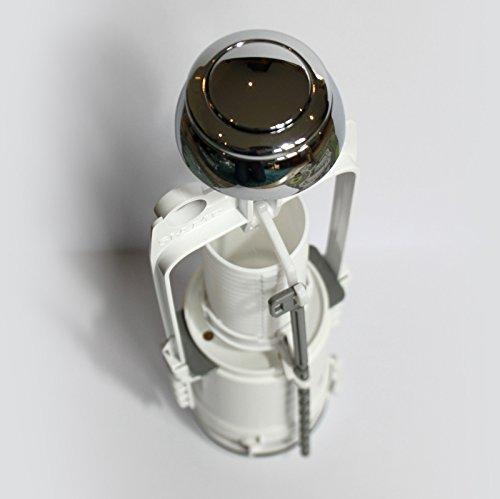 Siamp Storm 33A Toilettenspühlung, Einmengentechnik, Chrom