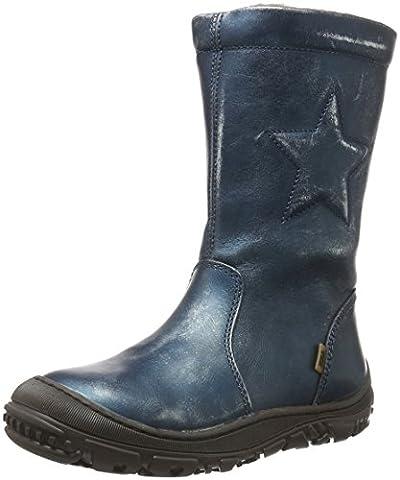Bisgaard TEX boot 61024216, Mädchen Schneestiefel, Blau (606 Blue) 35