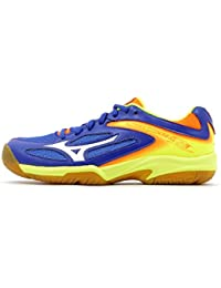 b33daae0e6b22 Mizuno Scarpe Pallavolo Bambino Lightning Star Z3 Jr SurftheWeb White Orange
