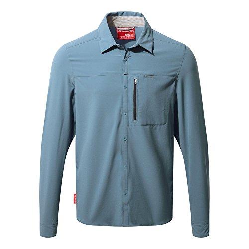 Craghoppers NosiLife Pro Langarm Hemd Men - Travelhemd Soft Khaki