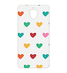 Happoz Oneplus 3 Cases Back Cover Mobile Pouches Patterns Floral Flowers Premium Printed Designer Cartoon Girl 3D Funky Shell Hard Plastic Graphic Armour Fancy Slim Graffiti Imported Cute Colurful Stylish Boys Z074