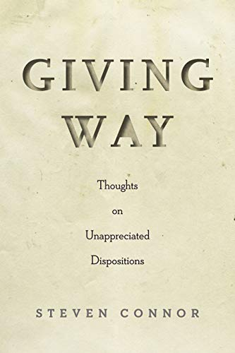 Giving Way: Thoughts on Unappreciated Dispositions (English ...