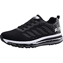 bed77286523bbf frysen Herren Damen Sportschuhe Laufschuhe mit Luftpolster Turnschuhe  Profilsohle Sneakers Leichte Schuhe