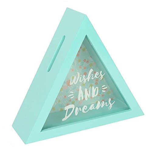 Deseos y Sueños triángulo caja de dinero