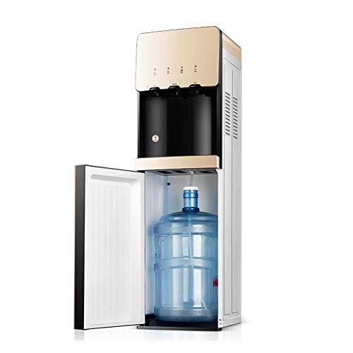 H&RB-WATER Freistehender wasserspender mit flaschenboden Laden warm und kalt, wasserspender leise für das büro zu Hause, kindersicherheitsschloss und smart Touch -