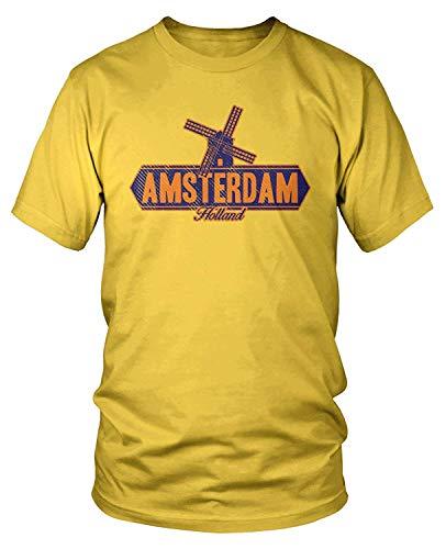 Men's Amsterdam, Holland Windmill T-Shirt XXL - Parade Pole