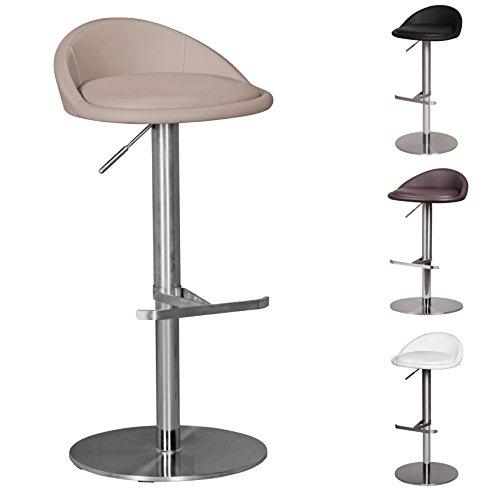 barhocker h henverstellbar edelstahl geb rstet schnaeppchen center. Black Bedroom Furniture Sets. Home Design Ideas