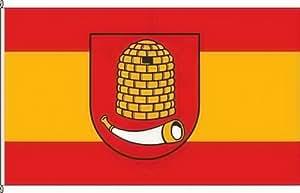 Königsbanner Hochformatflagge Kästorf - 80 x 200cm - Flagge und Fahne