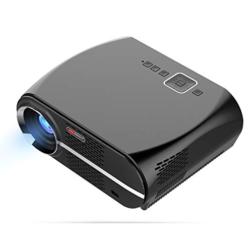 YFQH Diaprojektor Mini volles HD Heimkino-Videoprojektoren,Android 6.01 WiFi Smart LED Projektor 3500 Lumen 1280 * 800p 1080P HD Heimkino
