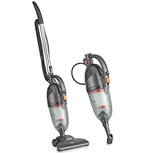 VonHaus Stick Vacuum Cleaner 600W Corded – 2 in 1 Upright & Handheld Vac with Lightweight Design, HEPA Filtration, Crevice Tool & Upholstery Brush - Grey