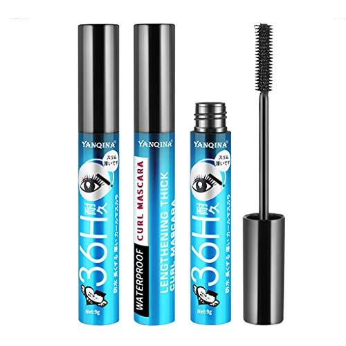 Dtuta Mascara Loreal Extension Wimperntusche VerläNgerung Waterproof Volumen Rollende Schwarze SchöNheit Langanhaltendes Make-Up