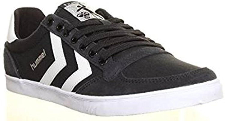 Hummel   Herren Sneaker  Schwarz   Schwarz/Weiß   Größe: 40.5
